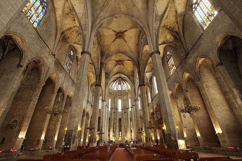 Resultado de imagen de Basilica de Santa Maria del Mar