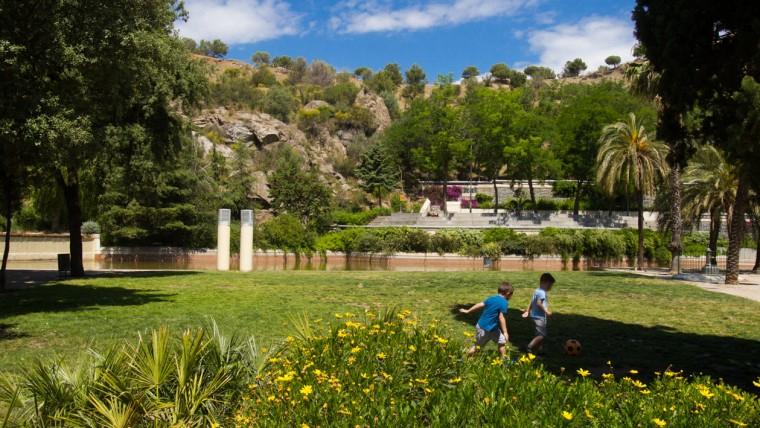 The Creueta Del Coll Park Barcelona Film Commission