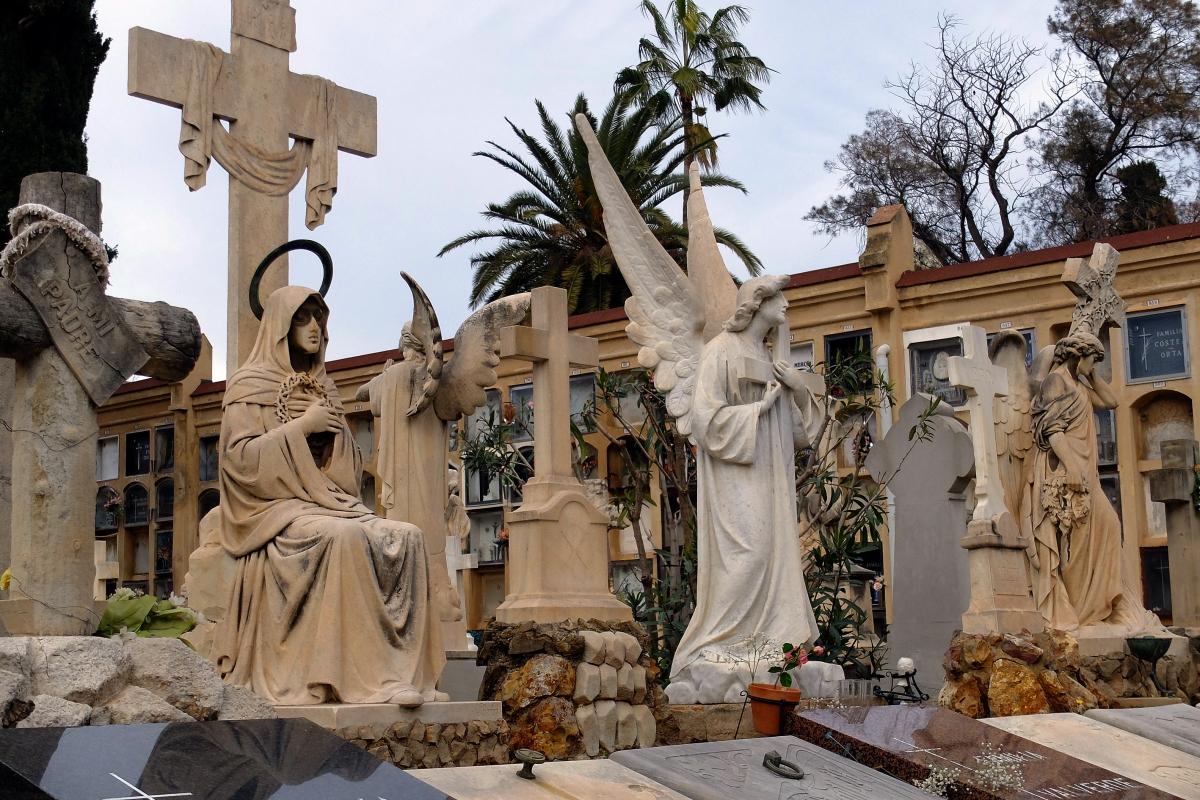 Resultat d'imatges de cementiri deles corts
