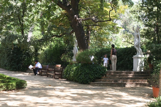 Jardines de la tamarita barcelona film commission - Jardines de barcelona ...