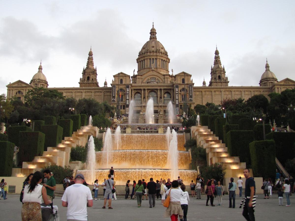 Distrito de Sants-Montjuïc  El Parque de Montjuïc  75632ecc11f