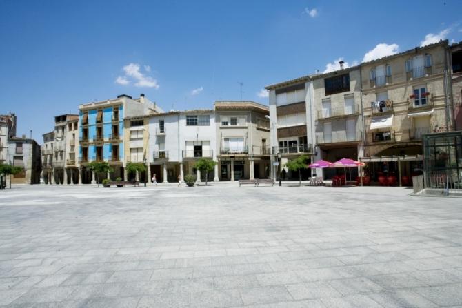 Plaça Major de Santa Coloma de Queralt