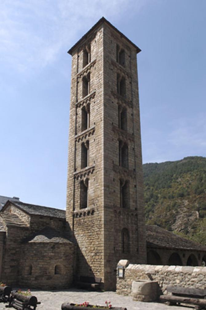 Erill La Vall - Esglèsia Santa Eulàlia