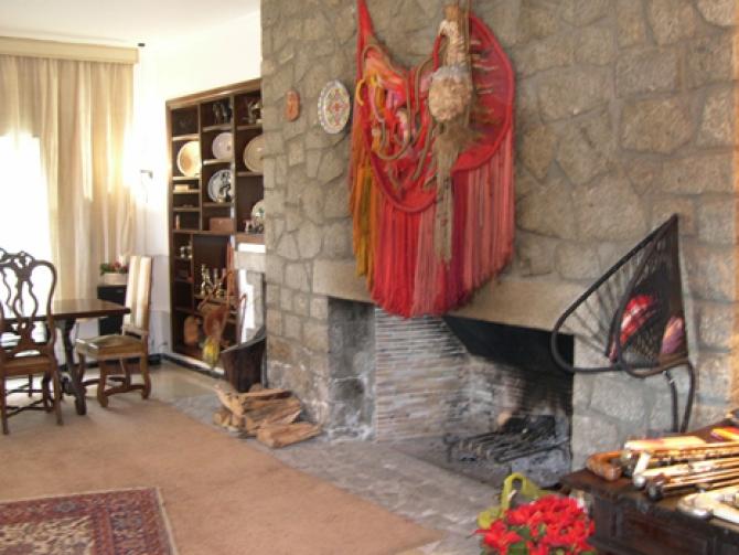 Casa Can Busquet Xemeneia