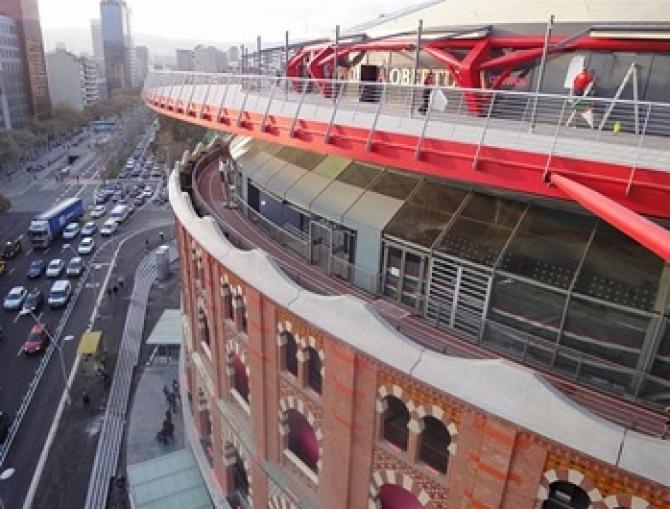 Arenas De Barcelona Centro Comercial Y Cúpula Barcelona Film Commission