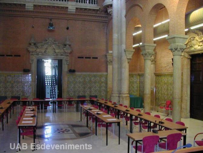 Sala d'actes_ Salón de actos_Assembly Hall