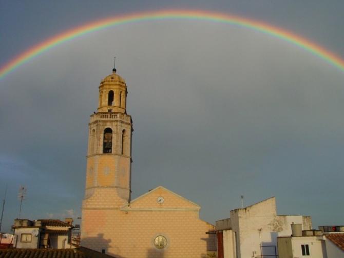 Església Santa Maria de Cubelles