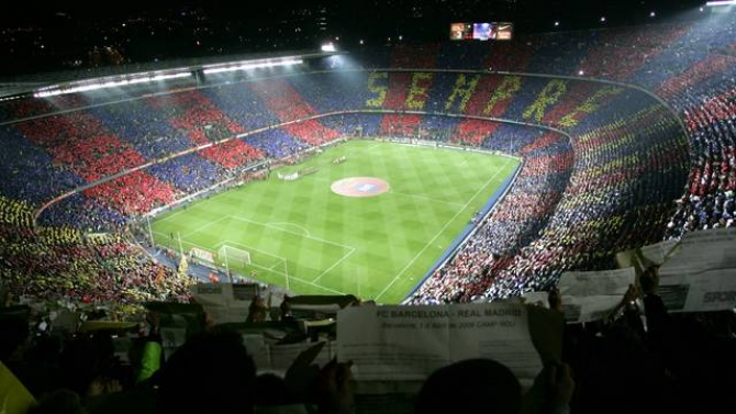 Camp Nou Futbol Club Barcelona Stadium Barcelona Film Commission