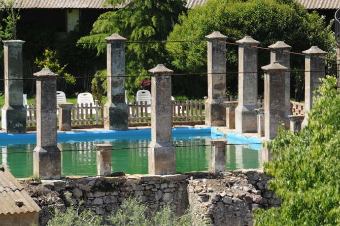 Castell Riudabella Pool (ancient Roman cistern)