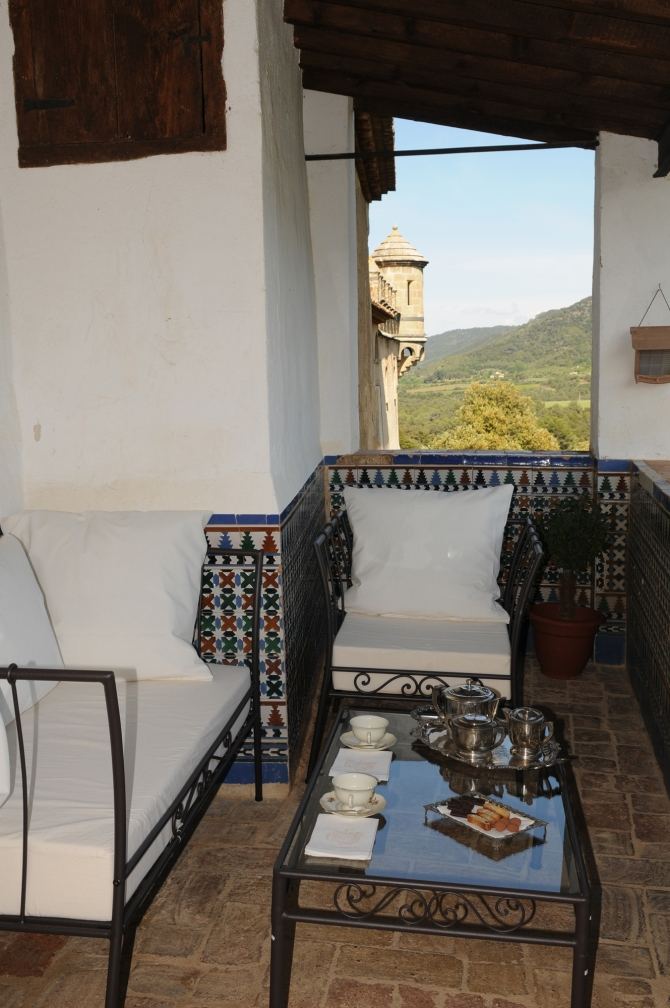 Castell Riudabella Balcó