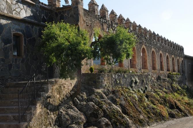 Castell Riudabella Wall
