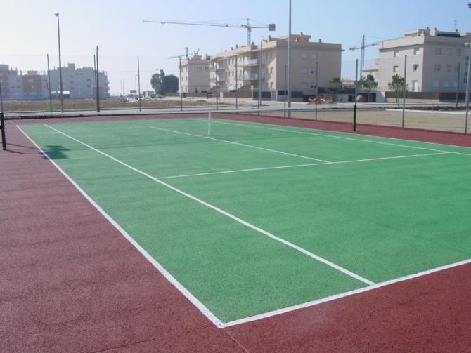 Pista de tennis de Cubelles