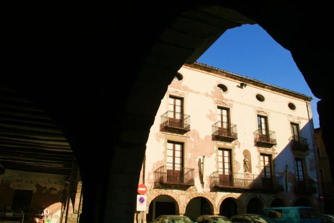 Plaça Major de Sant Joan de les Abadesses