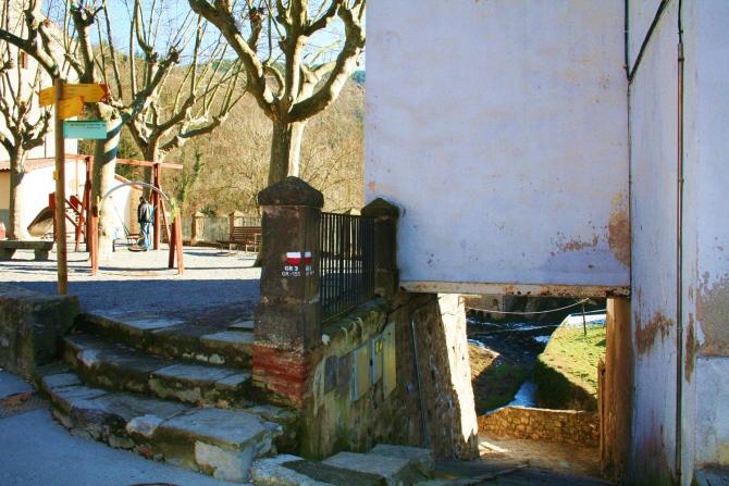 Plaça de l'Abadessa Emma