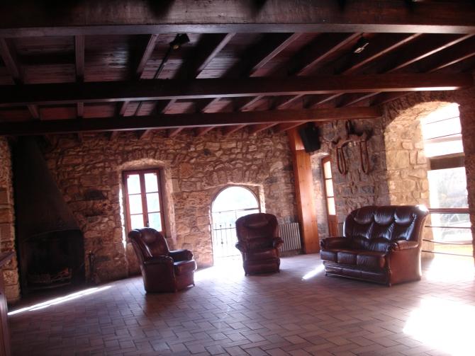 Sala Xemeneia Casa del Priorat