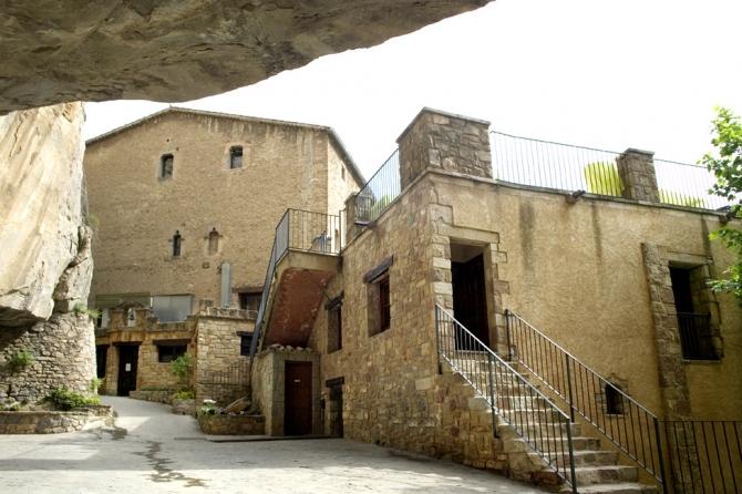 Vista exterior Casa del Priorat
