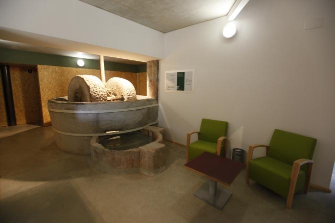 Interior Molí de Sant Oleguer