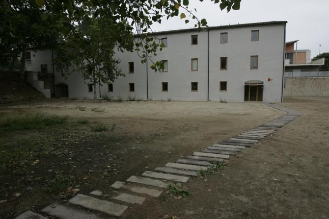 Fachada Molí de Sant Oleguer