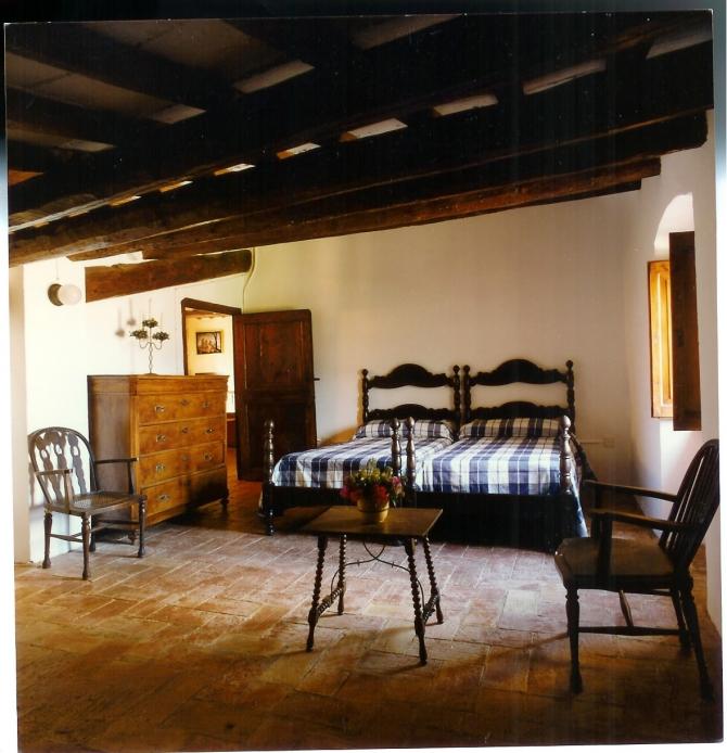 Castell Riudabella Room