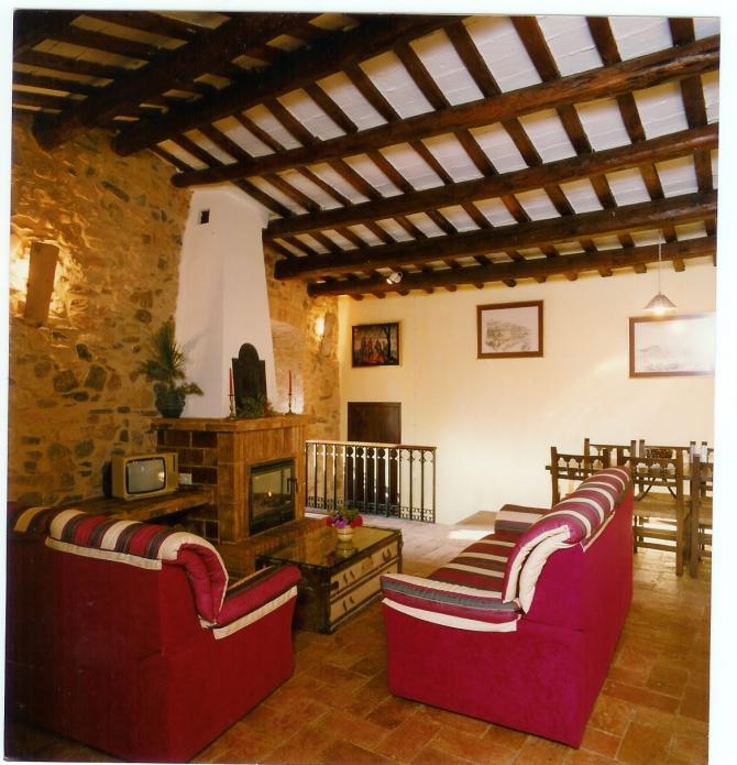 Castell Riudabella Living Room