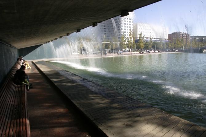 Parc Catalunya  - Cascada