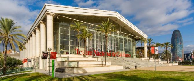 Façana Teatre Nacional de Catalunya