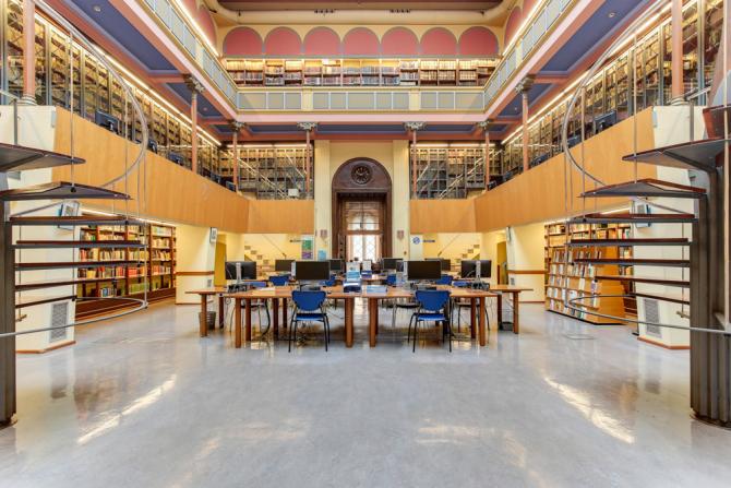Biblioteca de Lletres