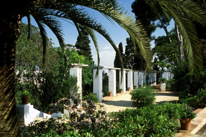 jardines de laribal barcelona film commission