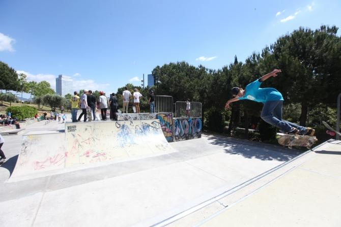 Skate Park - Parc Catalunya