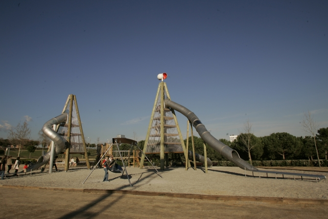 Parc Catalunya - Plaça Ernest Lluch