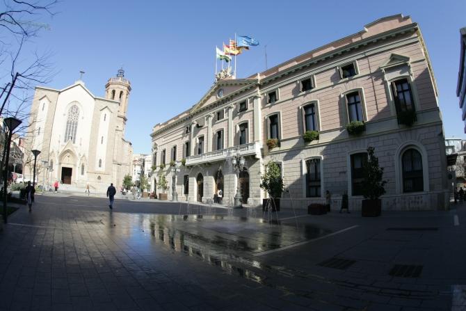 Plaça de Sant Roc/ Plaça de l'Ajuntament.