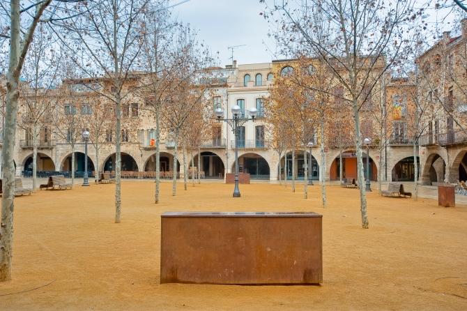 Plaça major Banyoles