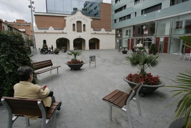 Rambla de Sabadell - Plaça Imperial