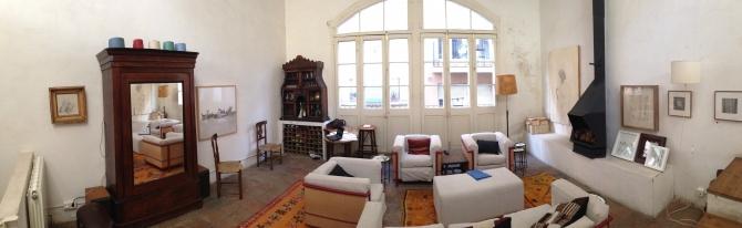 Sala d'estar / estudi