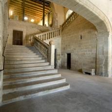 Interiro Castell de Santa Coloma de Queralt