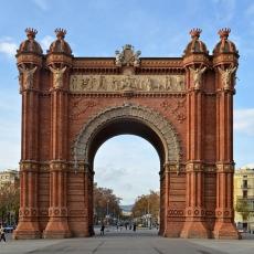 Barcelona - Arc de Triomf / Foto:Selbymay