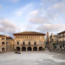 Plaça Major Poble Espanyol Foto: Juan Caballero