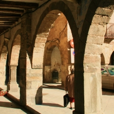 Plaça Major de Sant Joan de les Abadesses