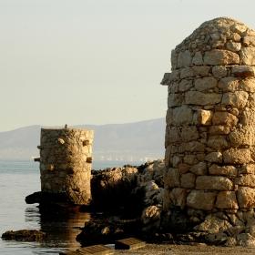 Platja del nucli antic de l'Escala