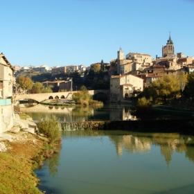 Gironella - Casc antic i riu Llobregat