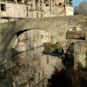 Vic - Pont de Queralt i Adoberies