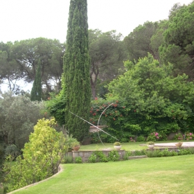 Casa Can Busquet Jardín