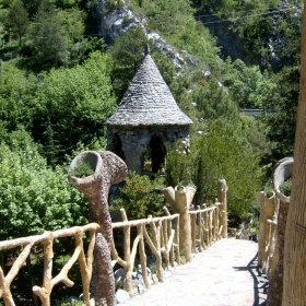Jardins Artigas d'Antoni Gaudí, La Pobla de Lillet