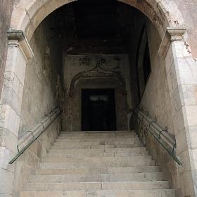 Entrada al castell de Castelldefels