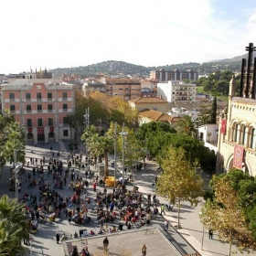 Plaça de l'Església de Castelldefels