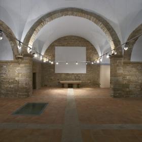 Interior Església Vella de la Guàrdia d'Urgell