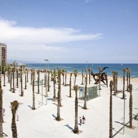 Plaça del Mar