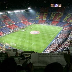 Camp Nou Futbol Club Barcelona Stadium