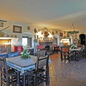 Castell Riudabella Medieval Dinning Room