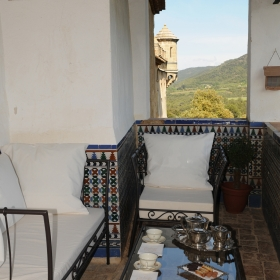 Castell Riudabella Balcony
